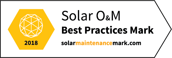 Promoting excellence by creating transparency in the solar O&M market