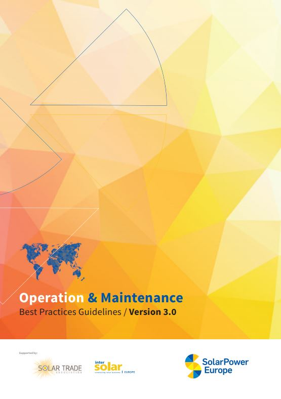 SolarPower Europe O&M Best Practices Guidelines